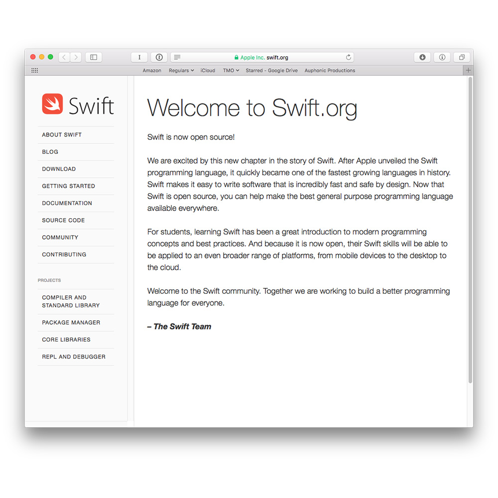 apple writing software Writing swift code is swift already supports all apple platforms as we're excited to see more ways in which swift makes software safer and.
