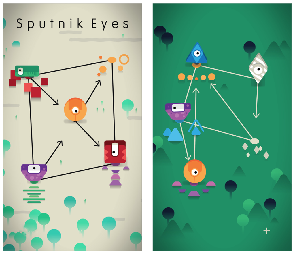 Puzzler Sputnik Eyes goes free as Apple's App of the Week