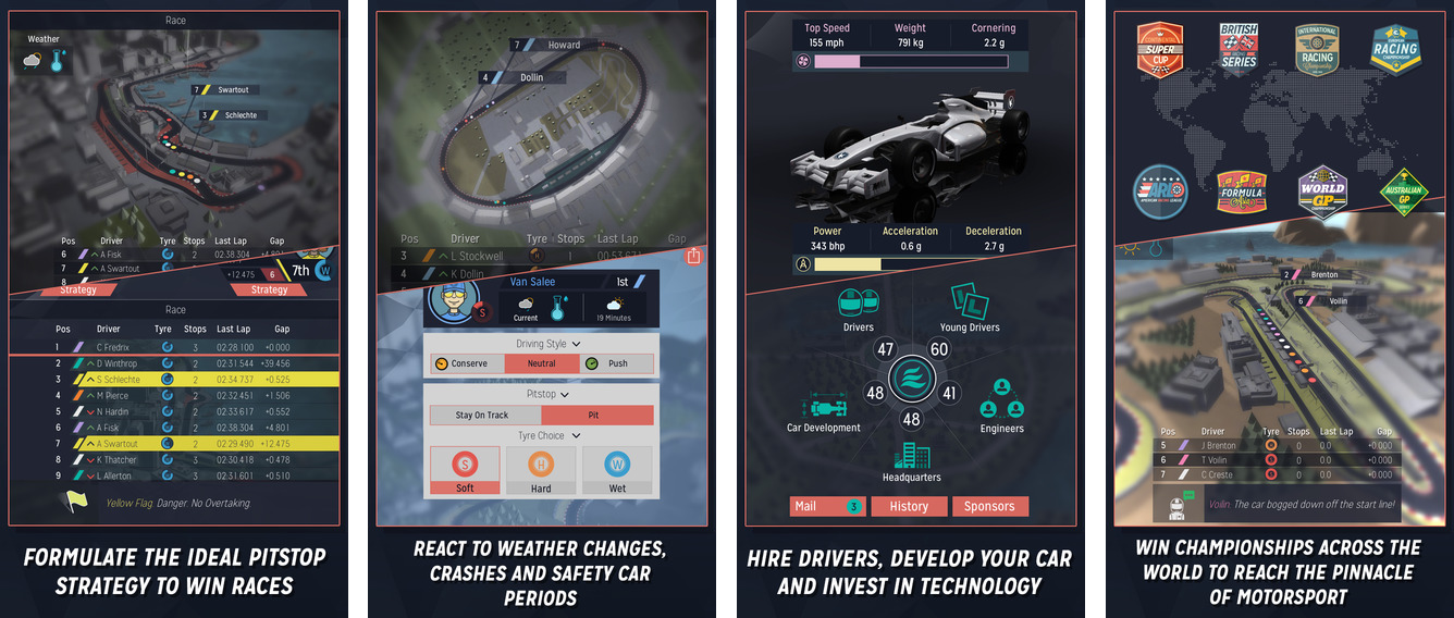 Motorsport Manager is Apple's new Free App of the Week