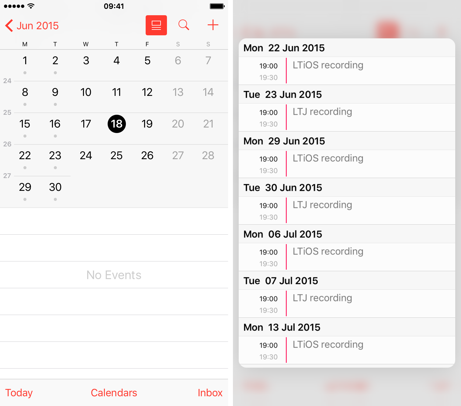 add calendar to iphone glimpse what s coming up next on your schedule with 3d 2915
