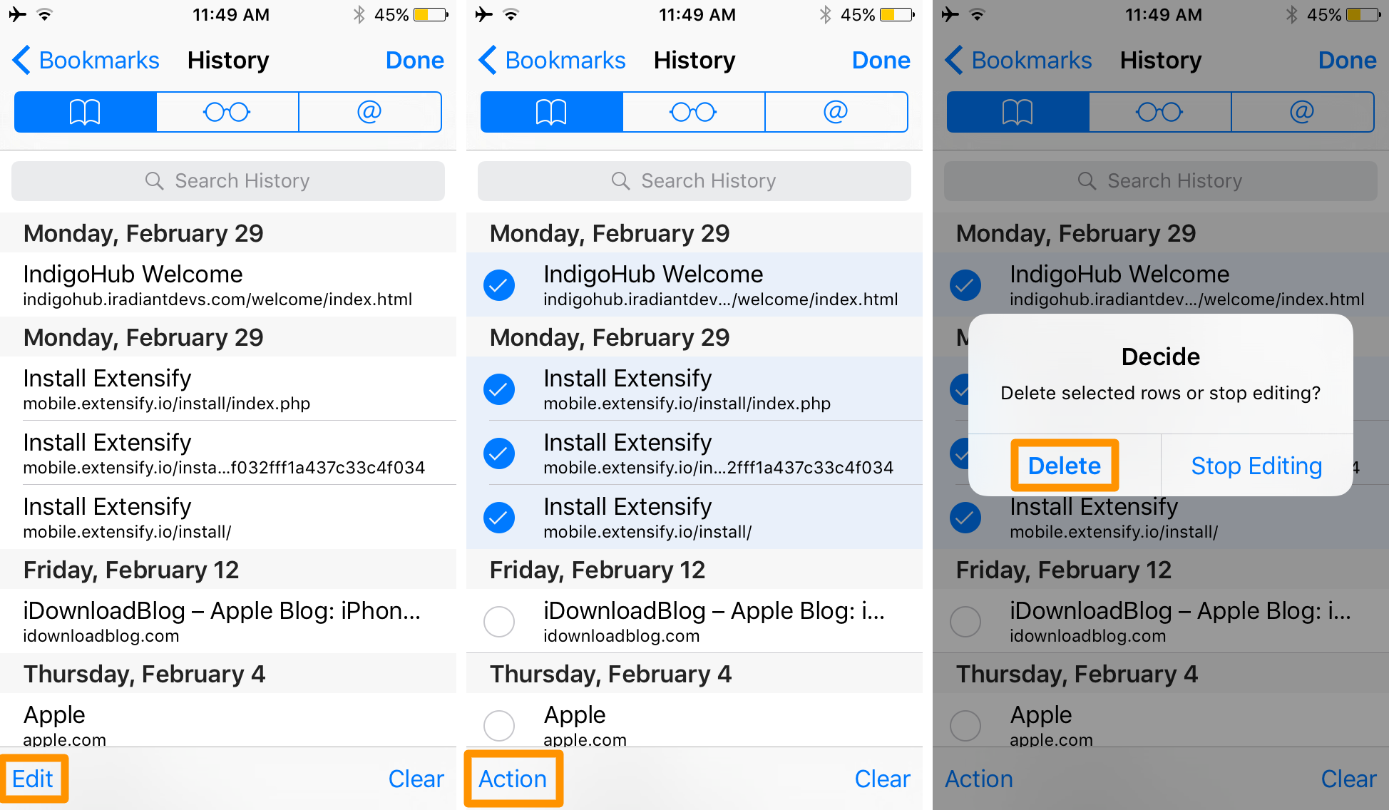 Clearing Cache In Chrome Your Safari Web History And The Problem