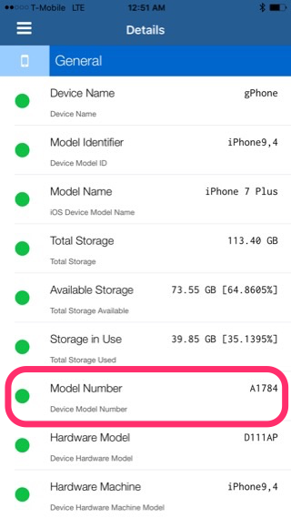 iphone model number how to find out if your iphone 7 or iphone 7 plus model 2320