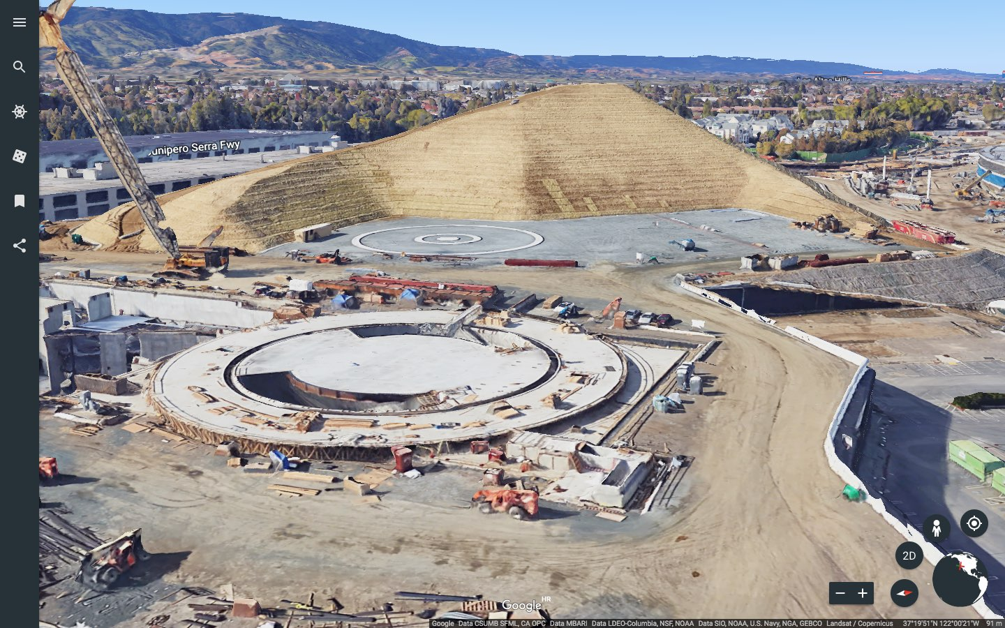 Google Maps Gains D Imagery Of Apple Park Mid Atlantic Consulting - Google maps drone