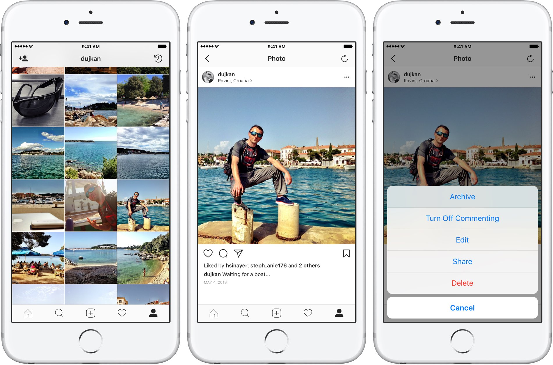 How To Delete Instagram Entirely Headsup Notifications Screenshot 3) Find  The Previously Shared Post You