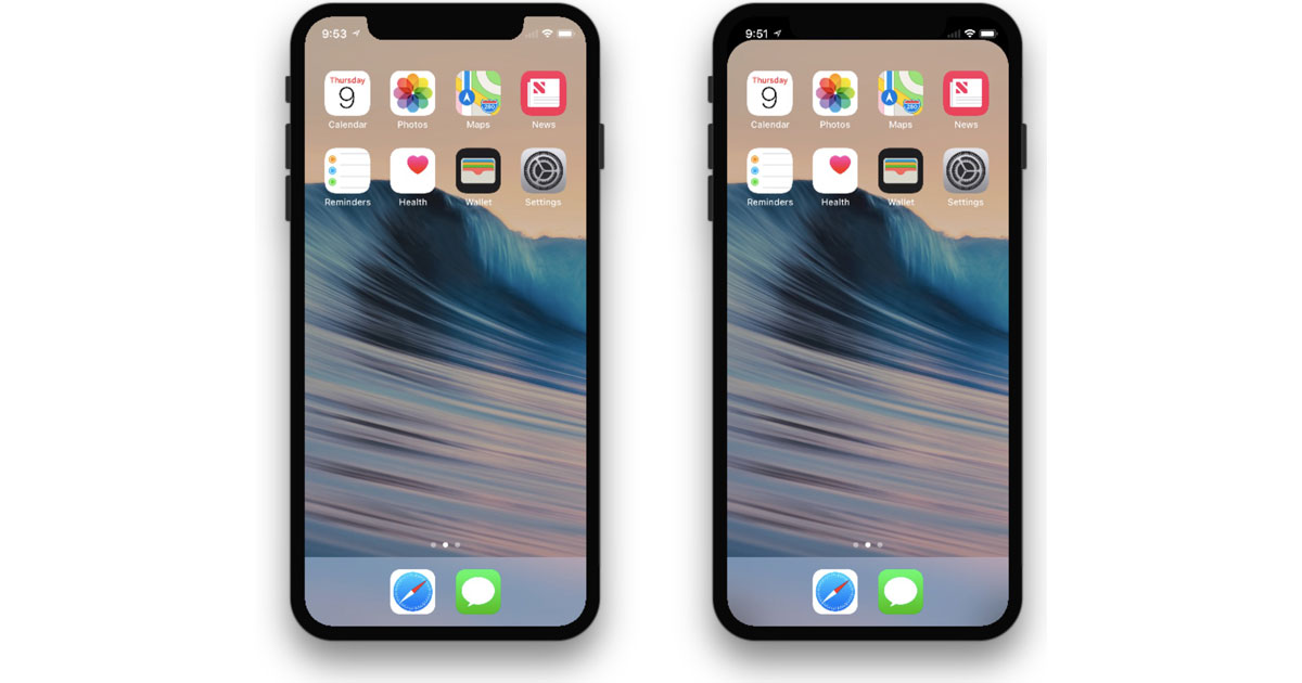 This Wallpaper Hides the iPhone X Notch | Mid Atlantic ...