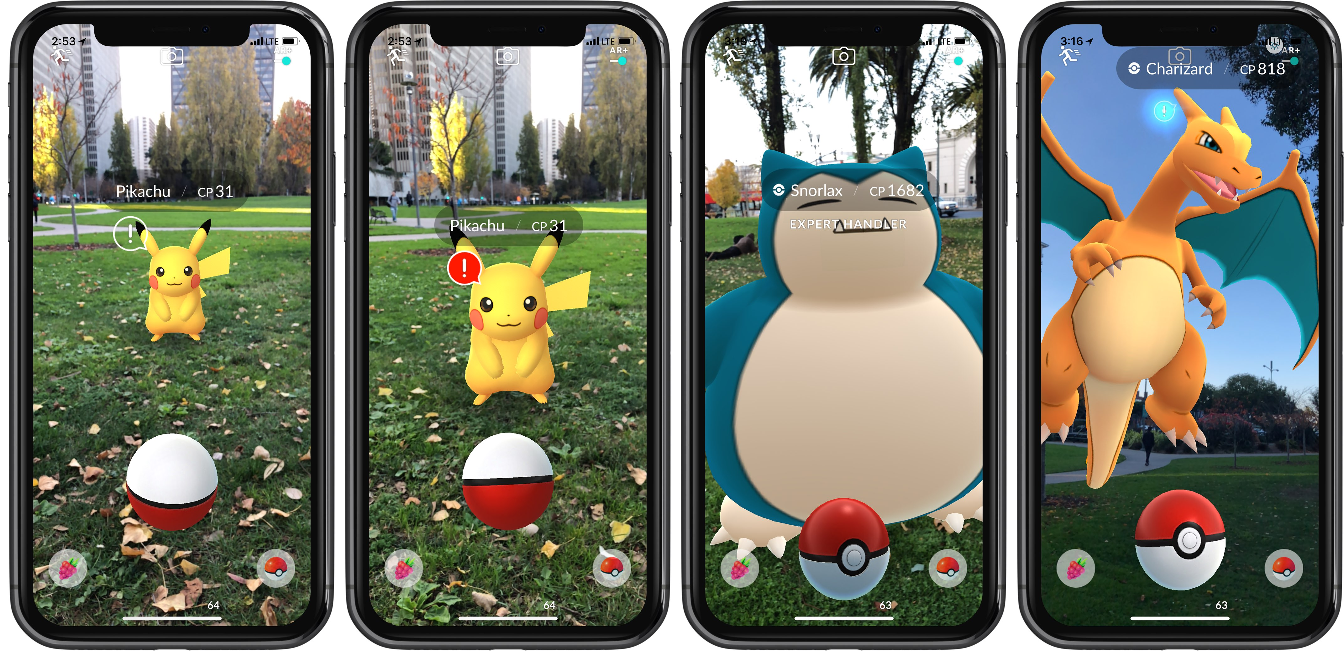 pokemon games for iphone pok 233 mon go s new ar mode uses apple s arkit to make it 15875