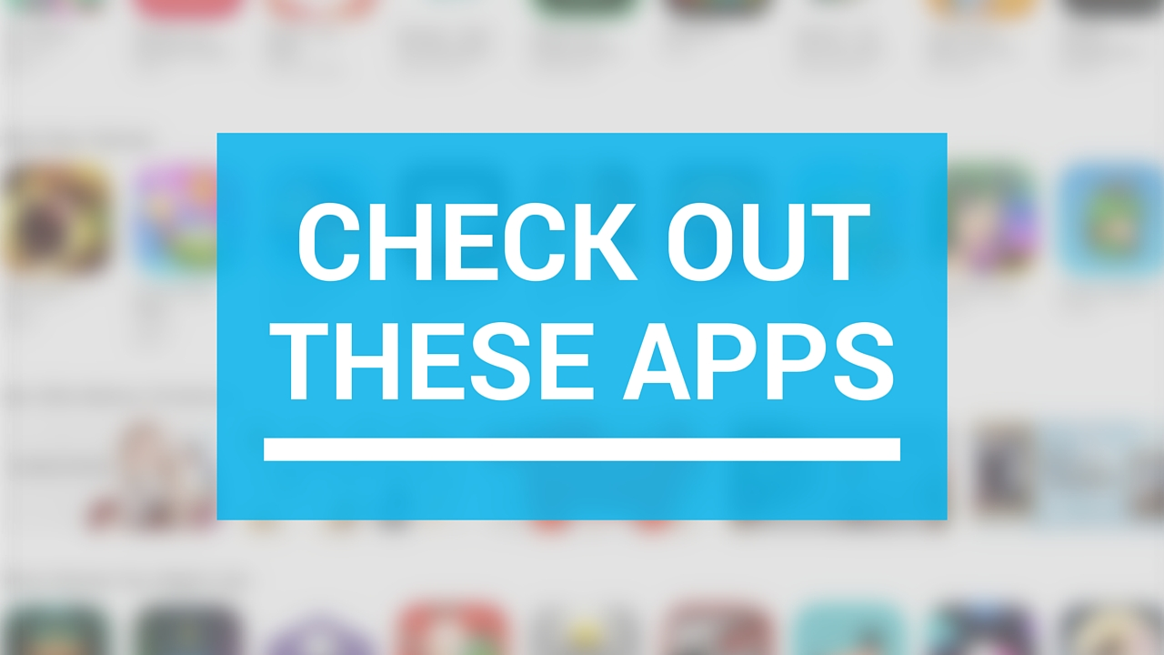 Doppler, Feedeos, Nutritrack, and other apps to check out this weekend