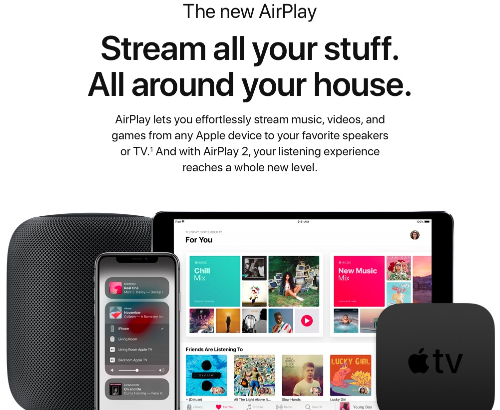 List of AirPlay 2 Siri voice commands for controlling