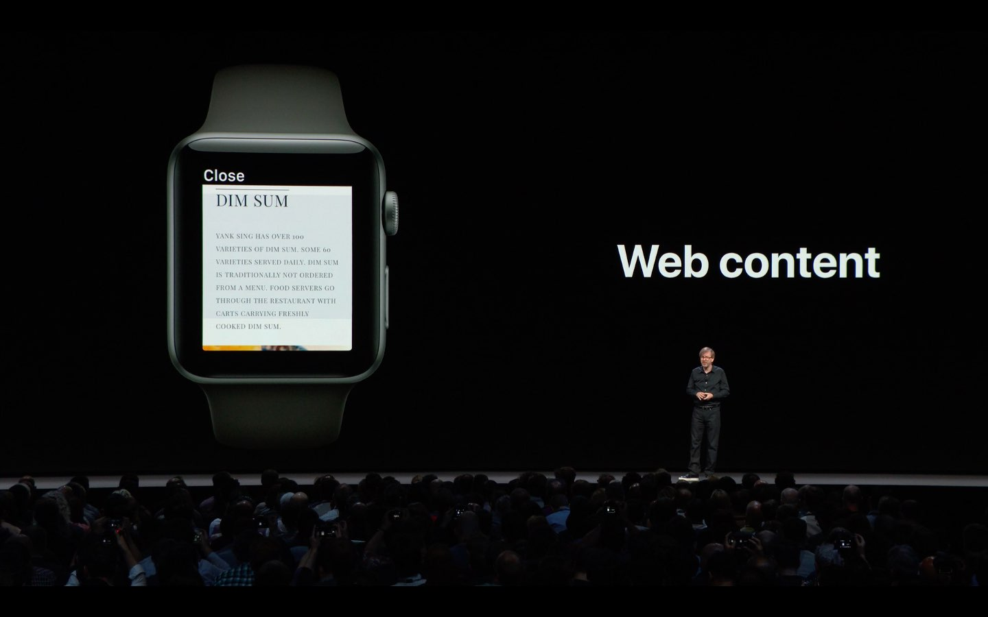 WebKit in watchOS 5 uses Safari's Reader Mode to render web content on your wrist without ads and other distractions