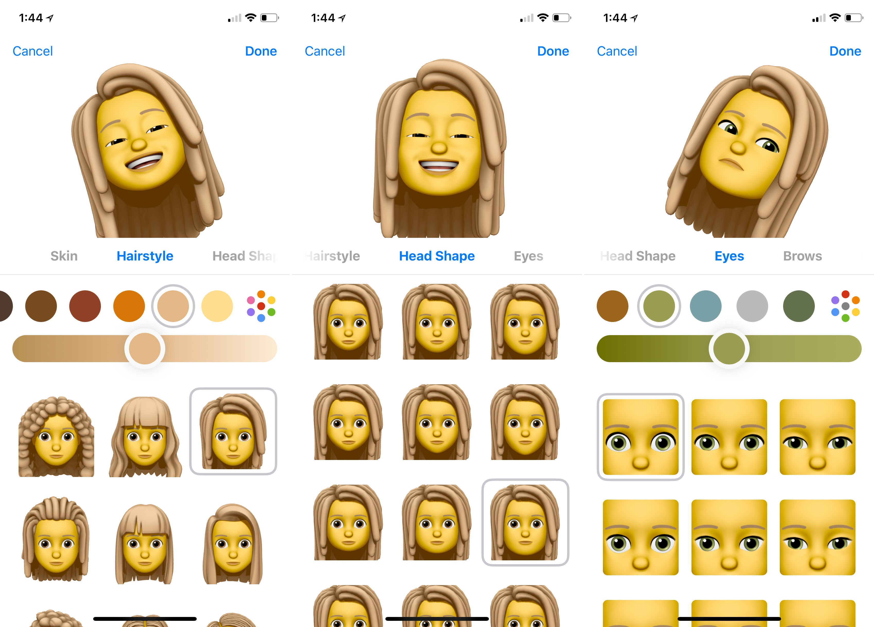 Memoji Creation