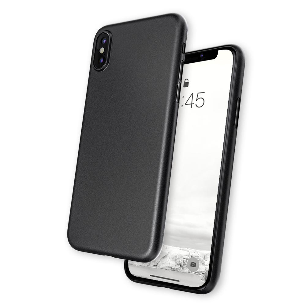 caudabe ultra-thin iphone xs case black