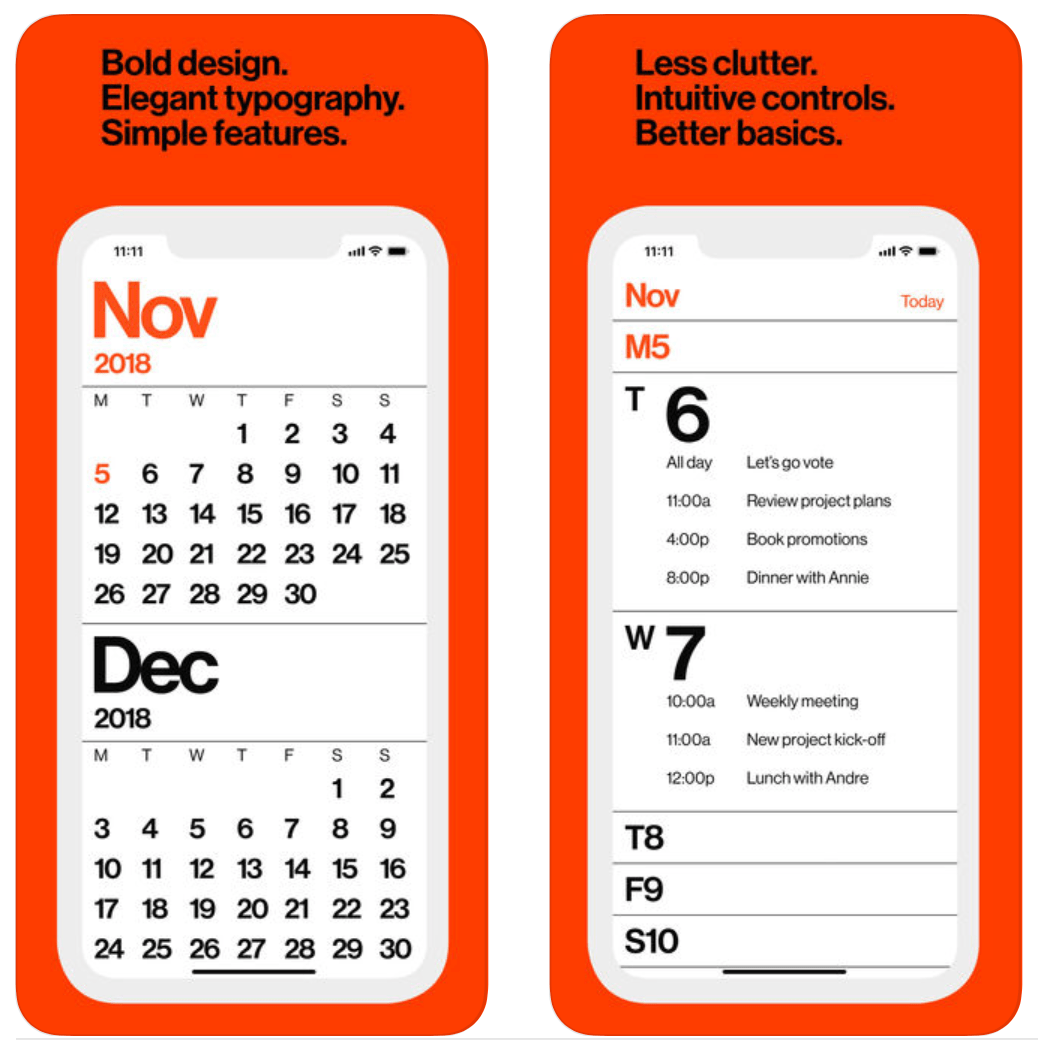 ABC Five, Weather Up, Minimal Calendar, and other apps to