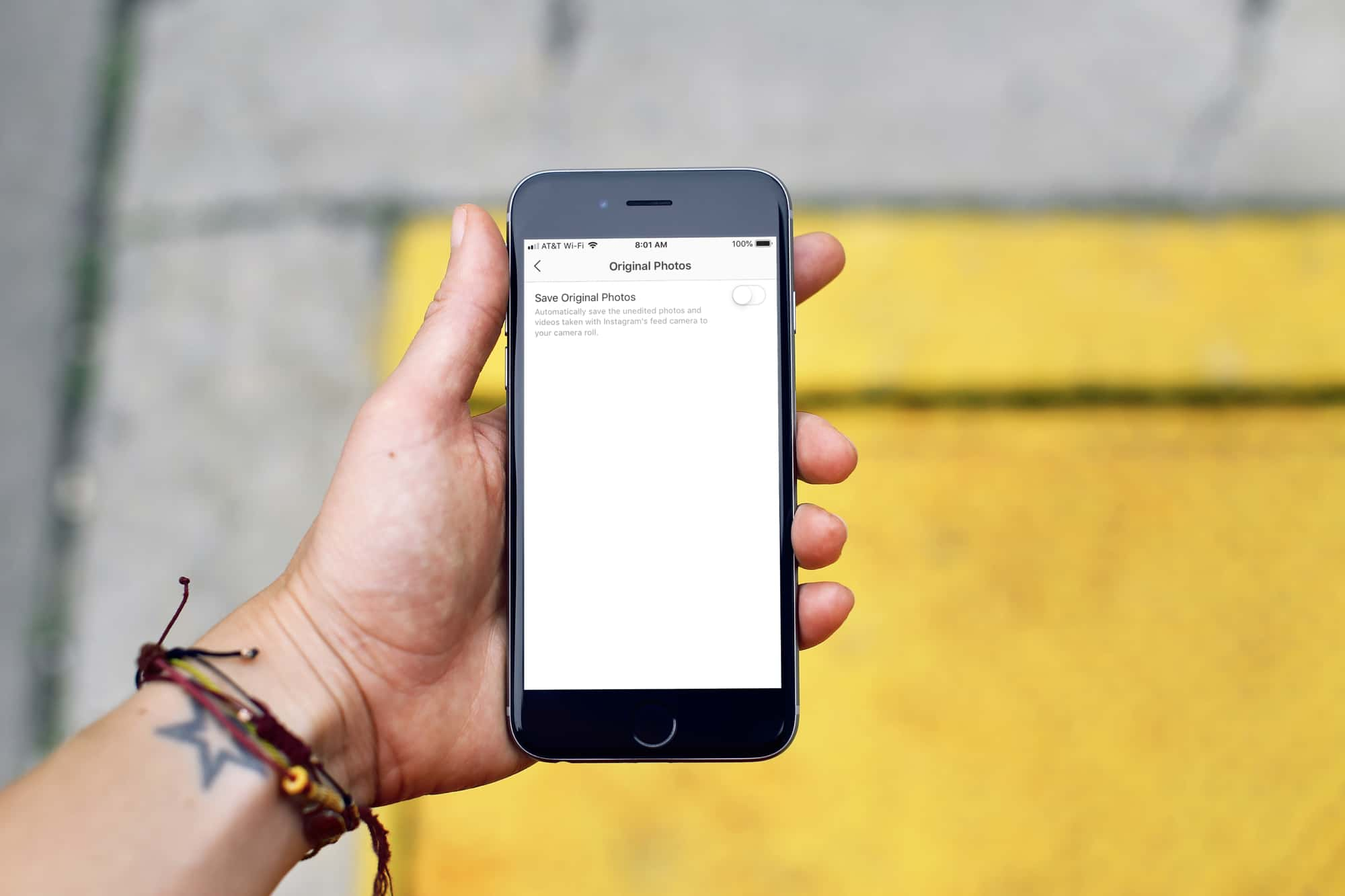 How to stop iPhone from saving Instagram photos to the
