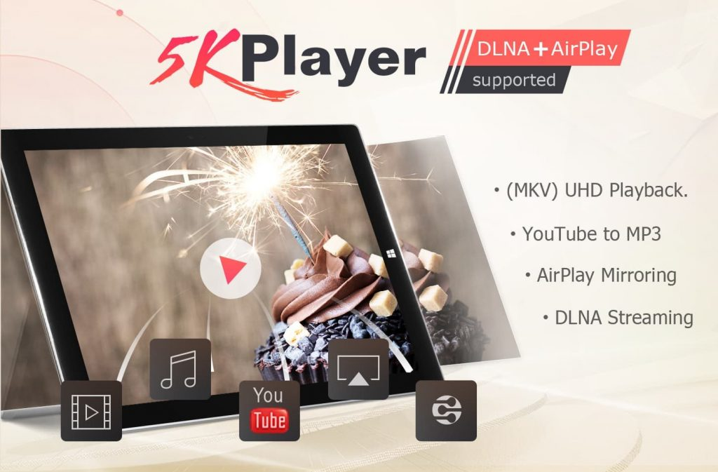 5KPlayer is a powerful VLC alternative that turns your Mac