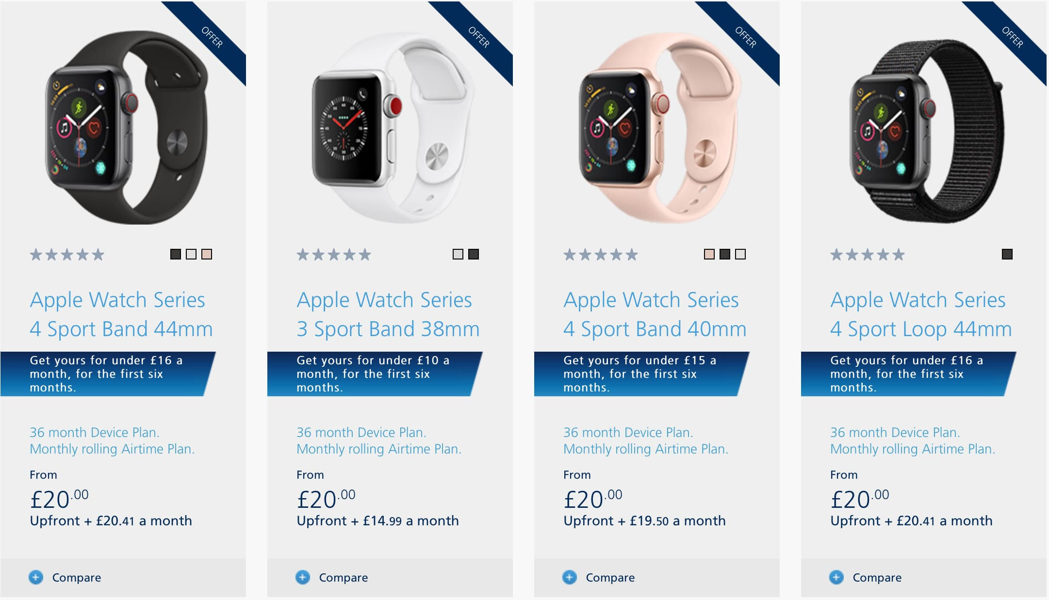 O2 in the UK is now offering the LTE Apple Watch variant