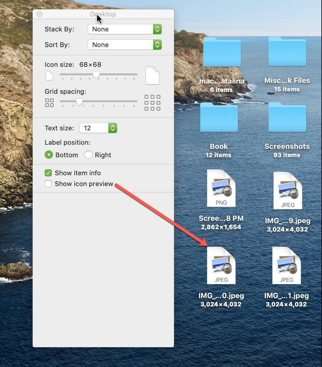 No Icon Preview Mac desktop