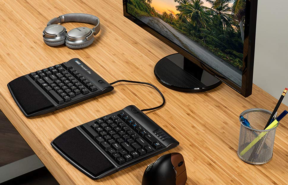 a wireless ergonomic keyboard for Mac - Great Mac gifts and accessories