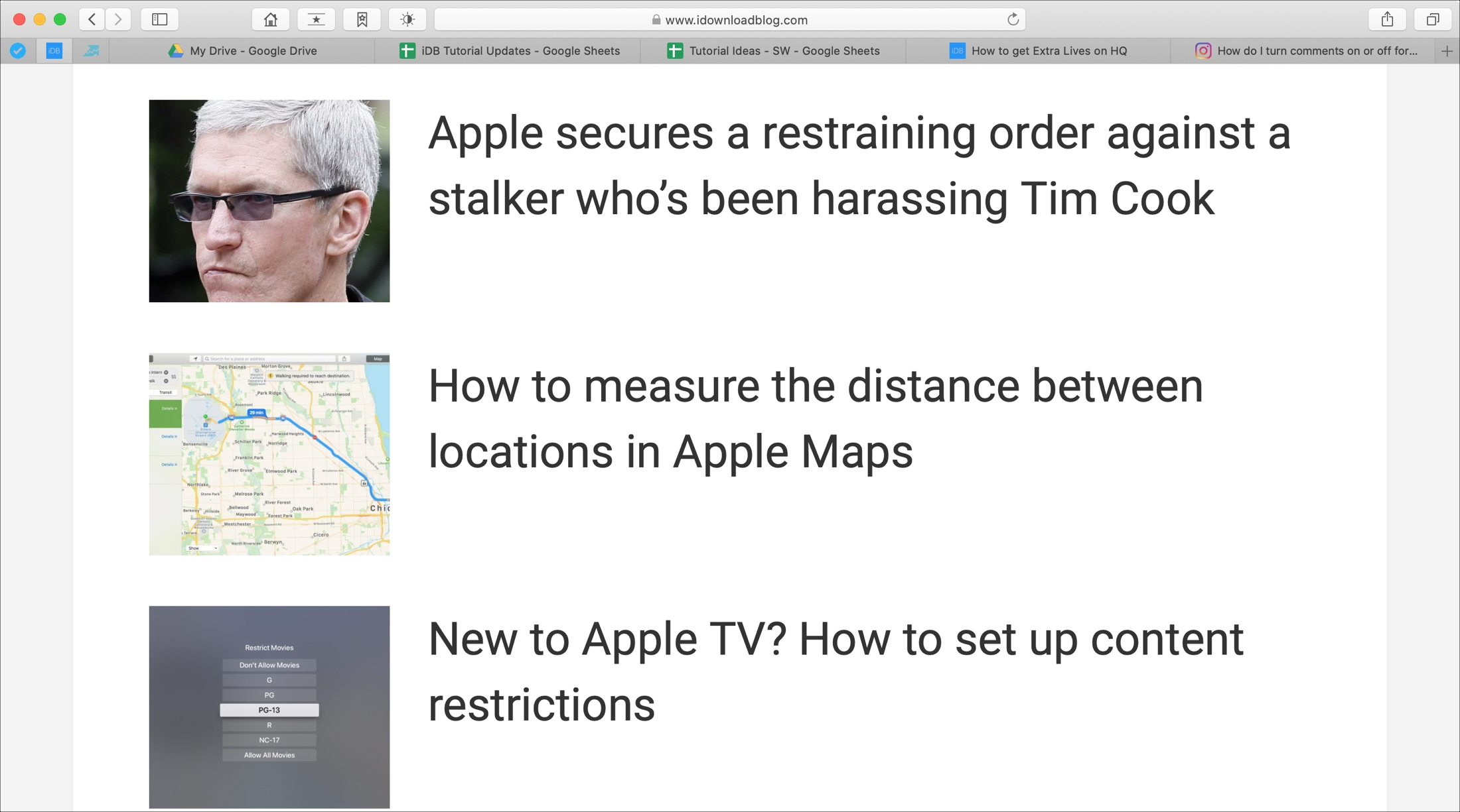 Mac Safari Zoom Page