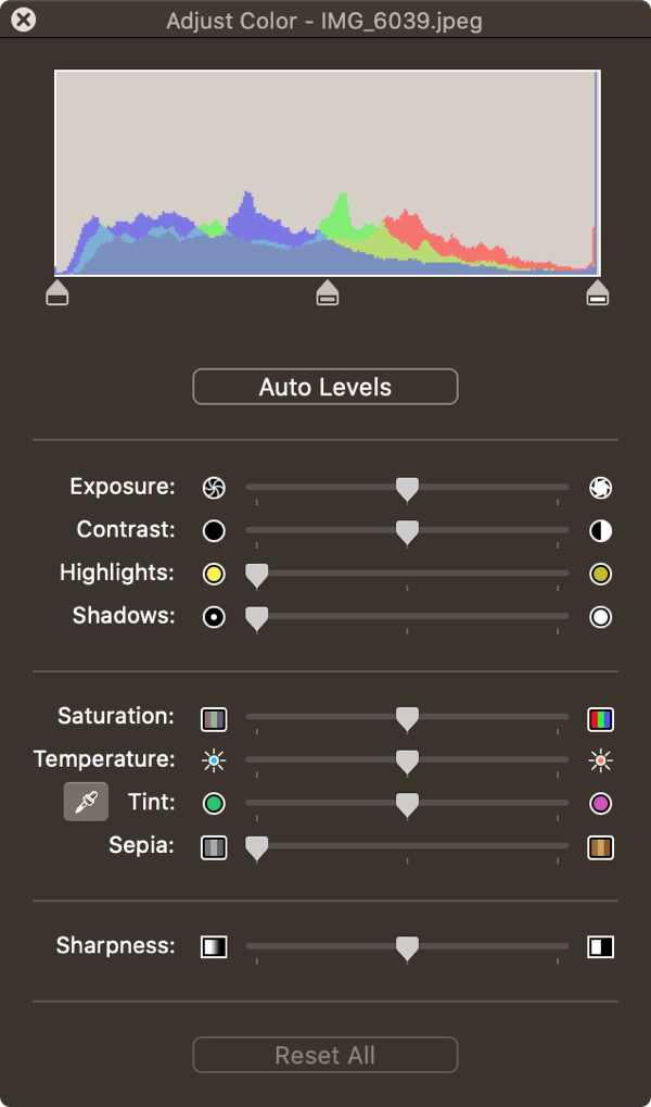Preview Color Adjust Tool