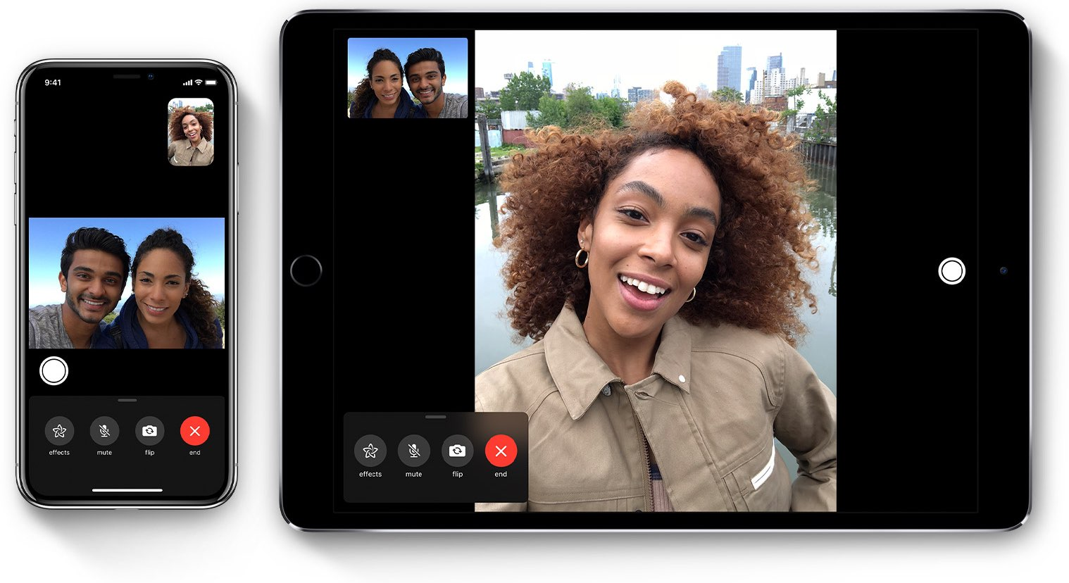Group FaceTime on iPhone and iPad