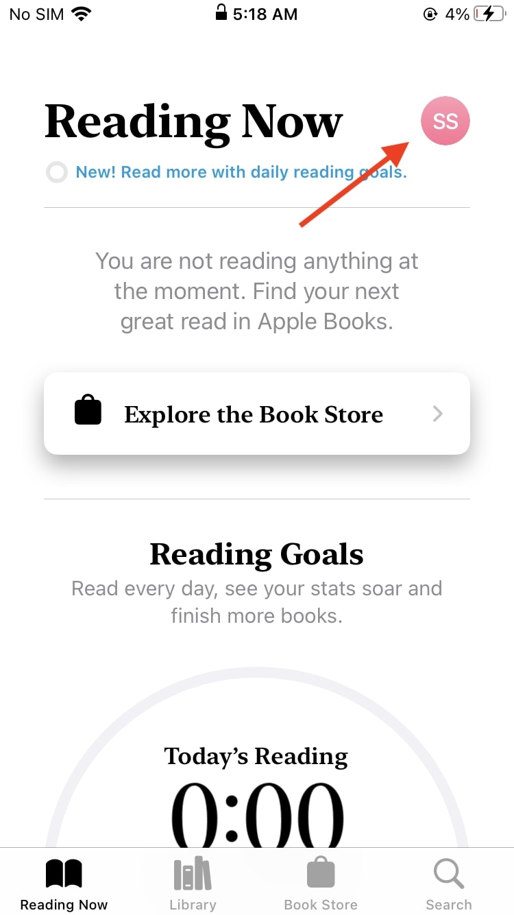 Apple Books Share books